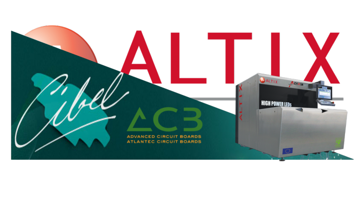 Cibel invests in Altix Direct Imaging equipment, the Adix SA3 - L'entreprise Cibel investit dans un équipement Altix Direct Imaging, Adix SA3
