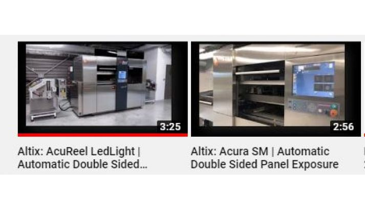 New Videos of our AcuReel and Acura SM on Youtube